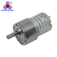 Motor de la caja de cambios de 10w mIcro dc para el aparato electrodoméstico