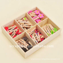 clipes clipes de madeira mini clipe clipe de madeira de madeira clipes de papel