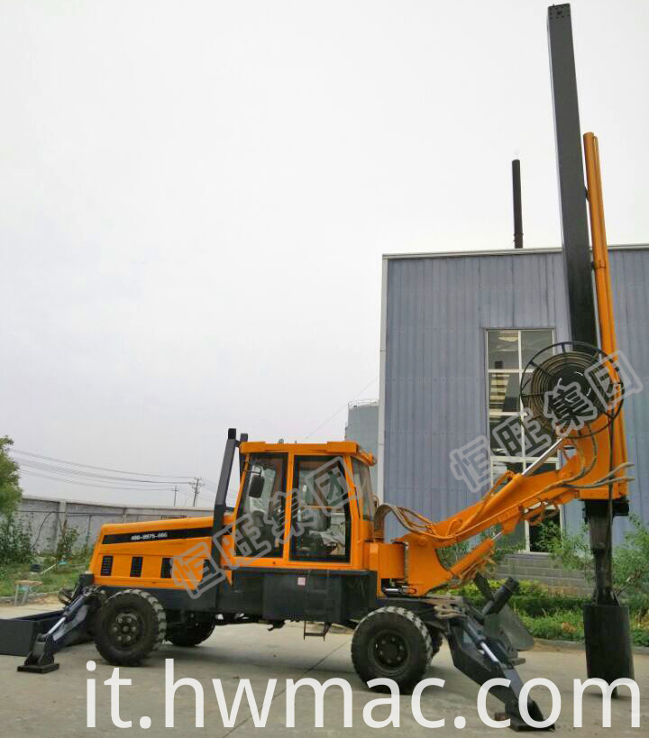 Rotary Auger Drilling Machine