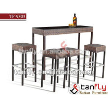 2015 new model rattan bar stool garden furniture hospitality furniture