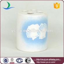 YSb40070-01-th Dolomite craft ceramic bathroom toothbrush holder