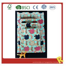 Caderno de couro com impressão colorida impresso