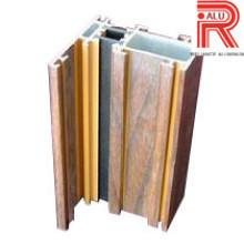 Perfis de extrusão de alumínio / alumínio para materiais de construção