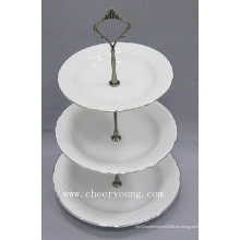Plato de porcelana (CY-P12488)
