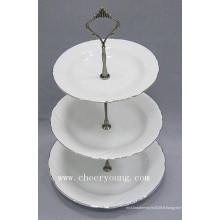 Assiette en porcelaine (CY-P12488)