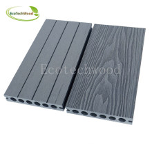 Top Quality 3D Wood Grain WPC Decking From Kun Hong
