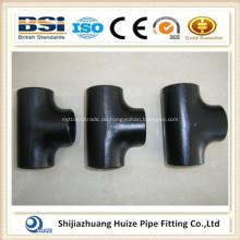 Standard nahtloses T-Stück aus Kohlenstoffstahl
