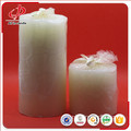 White Daily Pillar Wax Candle