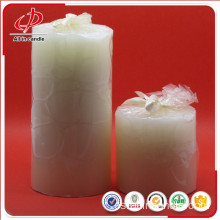 Vela White Daily Pillar Wax