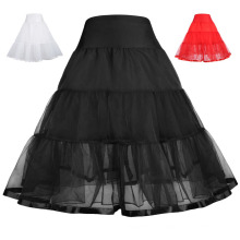 Grace Karin Girls Two Layers Tiered Retro Vintage Dress Crinoline Underskirt Petticoat 1~9Years CL010460