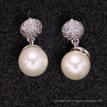 productos únicos 2018 europe fashion jewelry pearl earrings