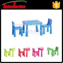 K-Mart KD Plástico nuevo diseño niños niños mesa y silla conjunto muebles