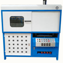 Plastic clamshell blister vacuum thermoforming machine