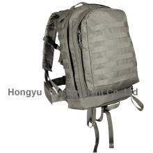Impermeável nylon militar exército ao ar livre camping caminhadas mochila (hy-b010)