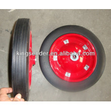 solid rubber wheel for the wheelbarrow