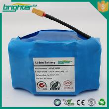 Batterie lithium 18650 3.7v pour scooter à équilibrage automatique