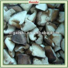 chips de hongos shiitake congelados