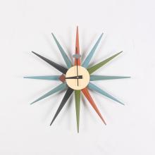 モダンネルソンサンバースト時計