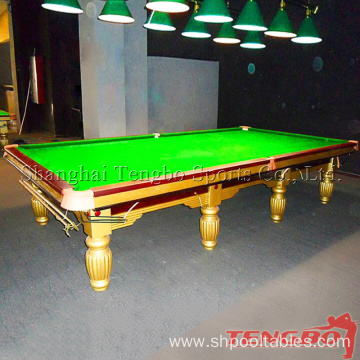 Oem snooker table standard size 12ft snooker table china for 12 ft snooker table
