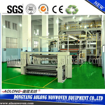 S PP Non Woven Fabric Making Machine Width 1600mm For Shopping Bag