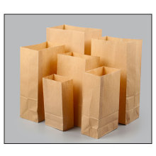 Bolsa de comida para llevar papel kraft para llevar