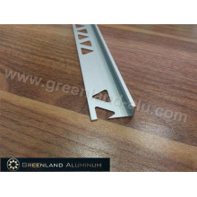 Perfis de alumínio L Forma Tile Borda Trim com Altura 8.5mm e Matt Silver Cor
