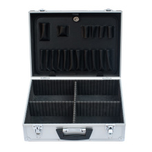 Ящик для инструментов из алюминиевого сплава с пеной для яиц