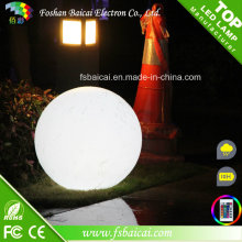 LED Ball DMX 16 couleurs imperméable IP65 Rechargeable RVB