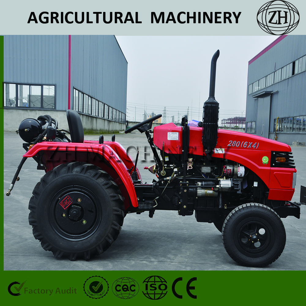 Factory Price 28HP Tractor 4WD Machinery