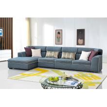 Modernes Wohnzimmer Möbel Stoff Ecksofa Set