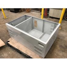 Fabricação de chapa de metal personalizada feita de gabinete CNC
