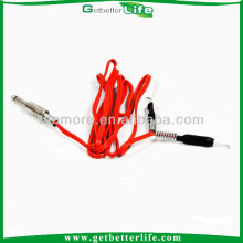 2014 getbetterlife New Silicone power clip cord for tattoo machine