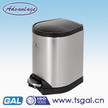 Hot sale 30L stainless steel pedal bin