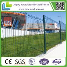 China-Lieferanten-Puder beschichtete Kurven Draht-Ineinander greifen-Garten-Fechten