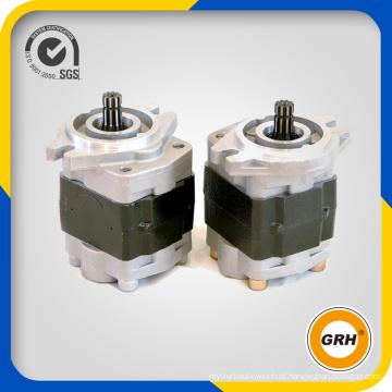 Bombas de óleo de engrenagens hidráulicas rotativas para escavadeira de rodas (CBQ-F580)
