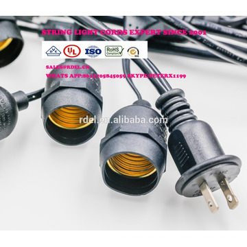 SL-012 UL/CSA APPROVED STRING LIGHTS CORDS SETS