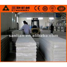 Venta caliente en China el panel de pared exterior de hormigón prefabricado ligero en el precio de la máquina del tablero del cemento para la venta