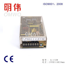 Wxe-150s-5 150W Single-Ausgang LED-Schaltnetzteil Wxe-150s-5