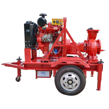 6 Inch 120KVA Diesel Water Pump with Trailer