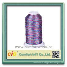 Ténacité élevée colorée de bonne qualité Personnaliser le fil de sac