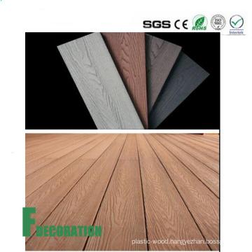 Co-Extrusion Waterproof Outdoor Wood Plastic UPVC Composite Decking