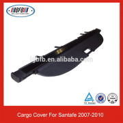 Car Accessories Luggage Cover for Santafe 2007-2010 Retractable Cargo Cover