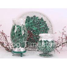 Vase en mosaïque en verre (TM1817)