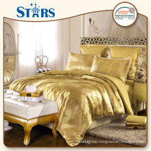 GS-JAC-05 OEM Jacquard king size bedding sets for home use