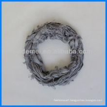 Custom dyeing viscose round neck scarf