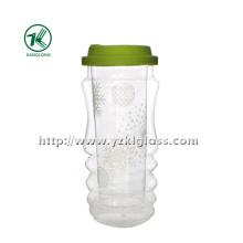 Двойная стеклянная бутылка стены (7 * 8 * 18.5cm 415ml)