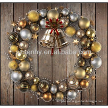 Venta al por mayor de adornos colgantes de Navidad personalizado