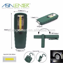 Durable Service Life 500 Lumens COB Working Light with 3*AAA Battery