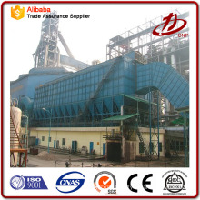 Cement dust catcher baghouse system