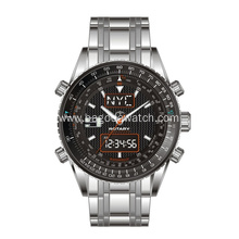 High end dual movement men watch